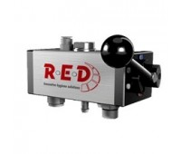 Пенная станция среднего давления на 2 продукта с функцией смыва (15 - 40 бар) в комплекте с держателем насадок