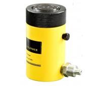 Домкрат гидравлический TOR HHYG-100100LS (ДГ100П100Г), 100т с фиксирующей гайкой