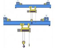 Кран мостовой однобалочный подвесной однопролётный г/п 3,2 т пролет 6,0 м