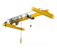 Кран мостовой однобалочный опорный однопролётный TOR  г/п 1 т пролет 10,5 м