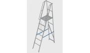 Лестницы-платформы фиксированной высоты алюминиевые
