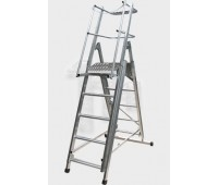 Телескопическая лестница-платформа
